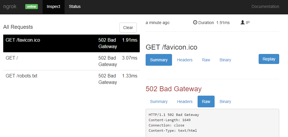 ngrok – ローカル環境へインターネットからアクセスできるサービス